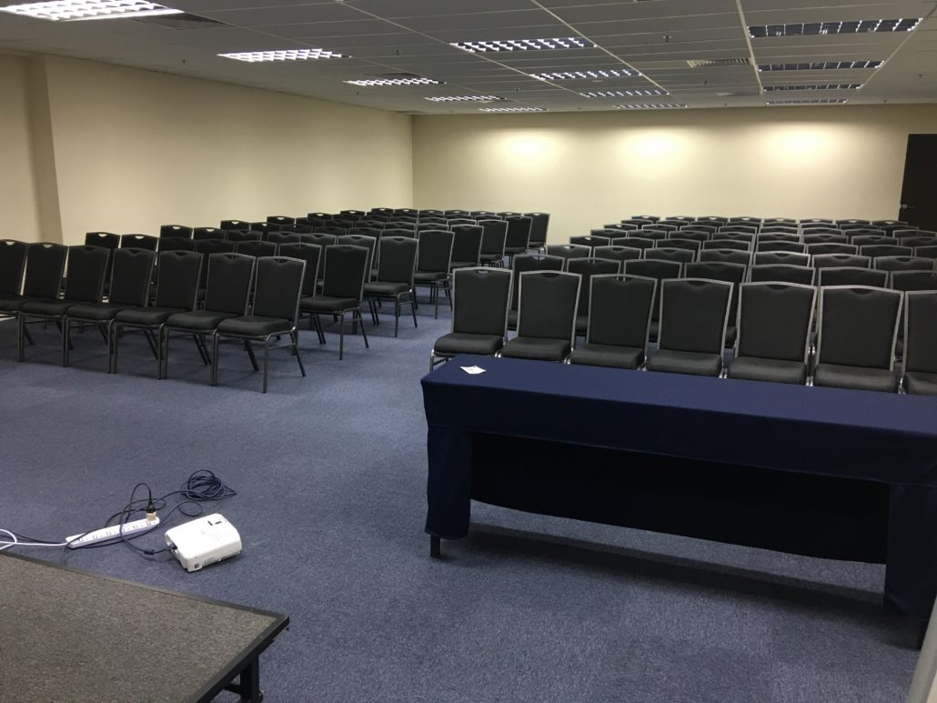 Seminar Room for Rent (Back View)
