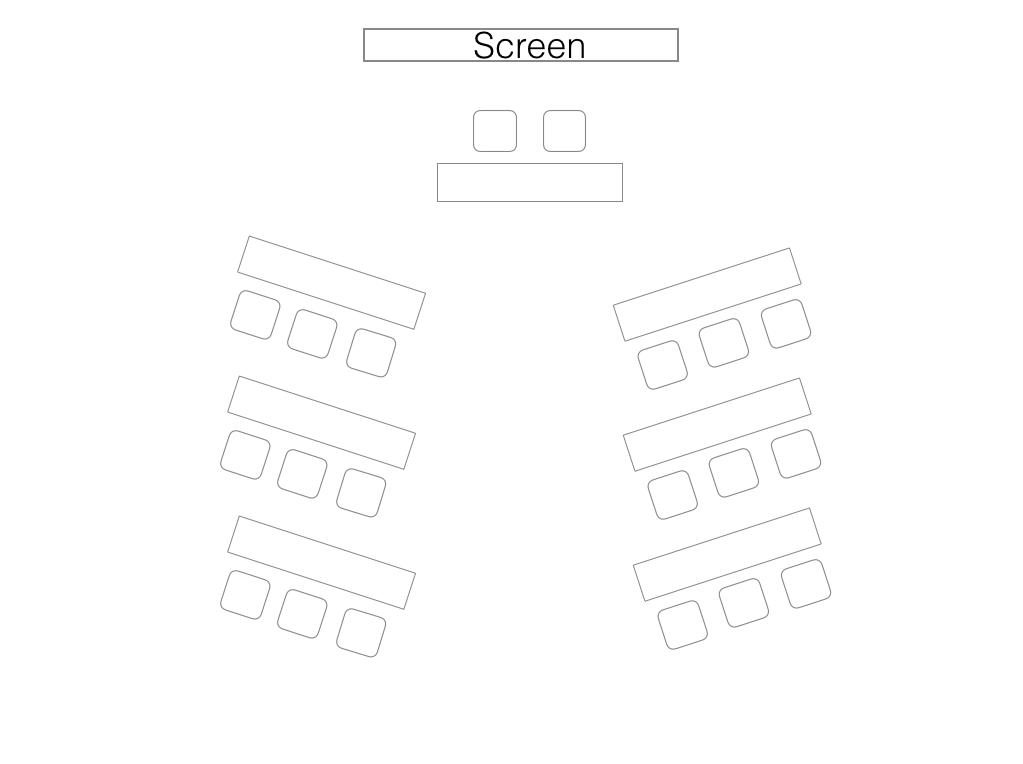 Classroom/Training Room Layout Styles/Setup - Venue Square ...